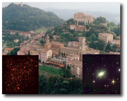 Bertinoro, AGN and galaxy