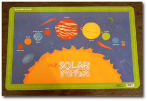 planet placemat